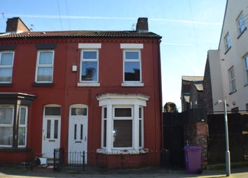 Thumbnail 2 bed end terrace house to rent in Thurnham Street, Tuebrook, Liverpool
