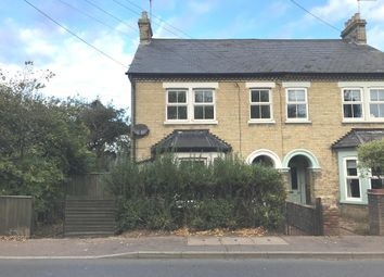 Thumbnail 3 bedroom semi-detached house for sale in Norwich Road, Thetford