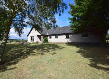 Thumbnail 4 bed detached bungalow for sale in Langshaw, Nr Galashiels