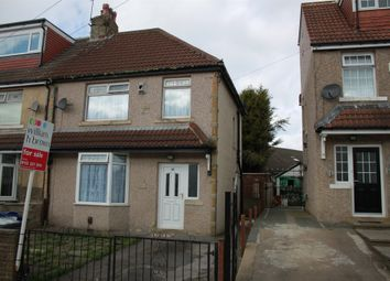 Thumbnail 3 bed semi-detached house for sale in Woodhall View, Thornbury, Bradford