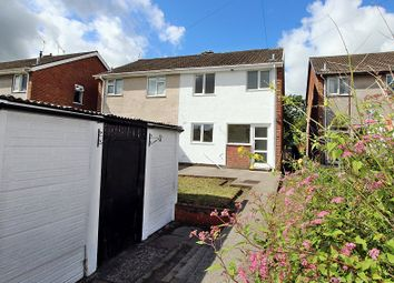 Thumbnail 3 bed semi-detached house for sale in Pant-Y-Seren, Thomastown, Tonyrefail, Porth, Rhondda, Cynon, Taff.