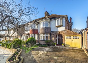Thumbnail 4 bed semi-detached house for sale in Compton Rise, Pinner