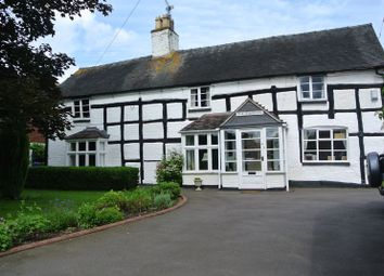 Thumbnail 4 bed detached house for sale in Long Street, Wheaton Aston, Staffordshire.
