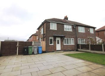 Thumbnail 3 bed semi-detached house to rent in Canterbury Road, Urmston, Manchester