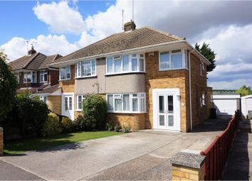 Thumbnail 3 bed semi-detached house for sale in Brompton Farm Foad, Strood, Rochester