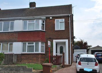 Thumbnail 3 bed semi-detached house for sale in Bells Lane, Hoo, Rochester