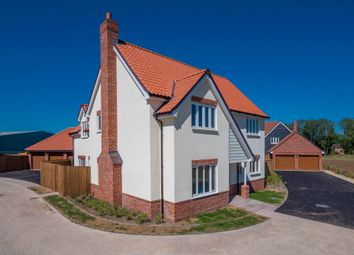 Thumbnail 4 bed detached house for sale in Chedburgh, Bury St Edmunds, Suffolk