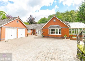 Thumbnail 4 bed detached bungalow for sale in Green Lane, Leigh, Greater Manchester.
