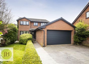 Thumbnail 4 bed detached house for sale in Vicarage Court, Holt, Wrexham
