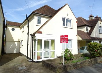 Thumbnail 3 bed detached house for sale in Claremont Road, West Byfleet