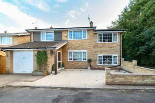 Thumbnail 4 bed detached house for sale in Marlborough Road, Stevenage