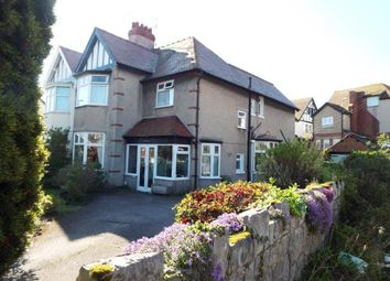Thumbnail 4 bed semi-detached house for sale in Princes Drive, Colwyn Bay, Conwy
