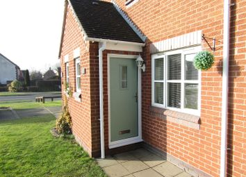 Thumbnail 2 bed semi-detached house for sale in Meadows Edge, Narborough, Leicester