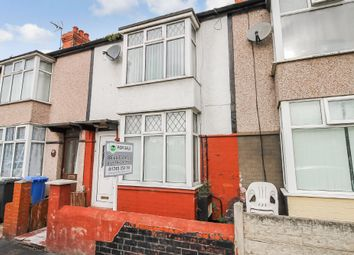Thumbnail 2 bed terraced house for sale in Victoria Road, Rhyl, Denbighshire
