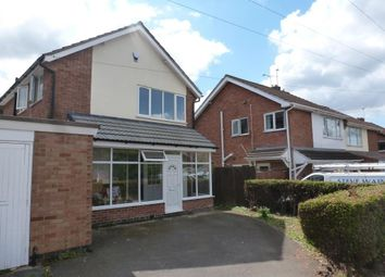 Thumbnail 3 bed detached house to rent in Rosemead Drive, Oadby, Leicester
