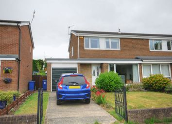 Thumbnail 3 bed semi-detached house for sale in Vanburgh Gardens, Morpeth
