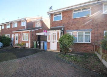 Thumbnail 3 bed semi-detached house to rent in Laxfield Drive, Urmston, Manchester