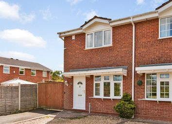 Thumbnail 2 bedroom semi-detached house for sale in The Windrow, Perton, Wolverhampton