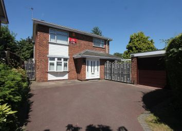 Thumbnail 5 bed detached house for sale in Manor Way, Burbage, Hinckley