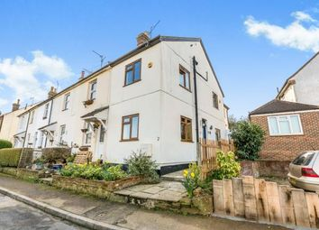 Thumbnail 3 bed end terrace house for sale in Crescent Road, Bletchingley, Redhill, Surrey