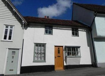 Thumbnail 2 bed terraced house for sale in Castle Street, Saffron Walden, Essex
