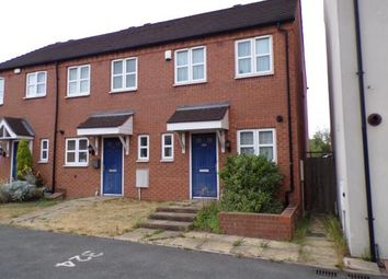 Thumbnail 2 bedroom end terrace house for sale in Bentley Lane, Reedswood, Walsall, .