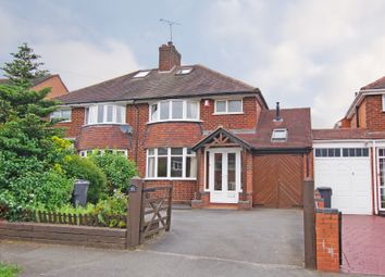 Thumbnail 3 bed semi-detached house for sale in Oakfield Drive, Cofton Hackett