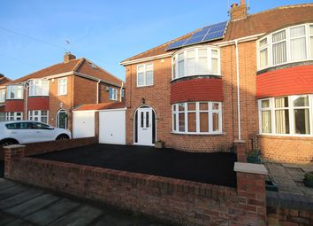 Thumbnail 3 bedroom semi-detached house to rent in Rawcliffe Croft, York