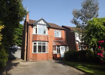 Thumbnail 3 bed detached house for sale in Egerton Road, Davenport, Stockport, Greater Manchester