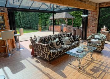 Thumbnail 4 bed farmhouse for sale in Wood Lane North, Adlington, Macclesfield