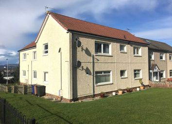 Thumbnail 2 bed flat to rent in Gibson Crescent, Johnstone
