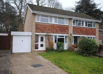 Thumbnail 3 bed semi-detached house for sale in Wilmington Close, Southampton
