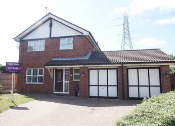 Thumbnail 4 bed detached house for sale in Ashbrook Avenue, Sutton Weaver, Runcorn
