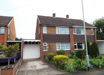 Thumbnail 3 bed semi-detached house for sale in Burford Road, Wheaton Aston, Stafford, Staffordshire