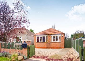 Thumbnail 2 bed detached bungalow for sale in Station Road, Knaith Park, Gainsborough
