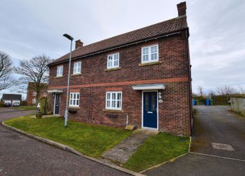 Thumbnail 3 bed semi-detached house for sale in Farriers Rise, Shilbottle, Northumberland