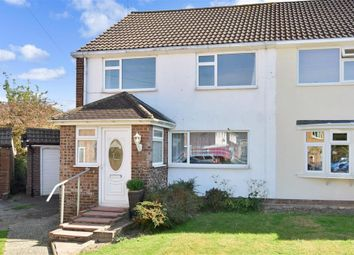 Thumbnail 3 bed semi-detached house for sale in Browning Close, Pound Hill, Crawley, West Sussex