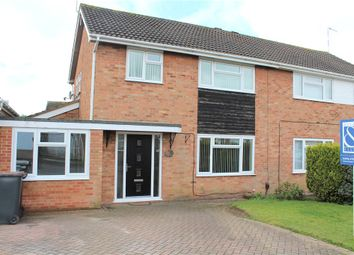 Thumbnail 3 bed semi-detached house for sale in Calder Close, Bulkington, Bedworth, Warwickshire