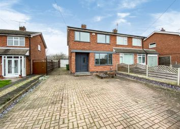 Thumbnail 3 bed semi-detached house for sale in Brooklands Road, Cosby, Leicester