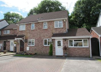 Thumbnail 2 bed end terrace house for sale in Coedriglan Drive, Michaelston-Super-Ely, Cardiff