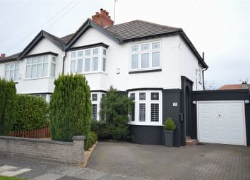Thumbnail 3 bedroom semi-detached house for sale in Edale Road, Mossley Hill, Liverpool