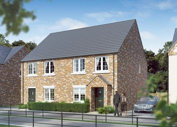 "Thumbnail 3 bed semi-detached house for sale in ""The Kilmington"" at Aslakr Park, Abbey Lane, Aslockton"
