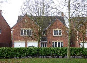 Thumbnail 5 bed detached house for sale in Bucklow Gardens, Lymm, Cheshire