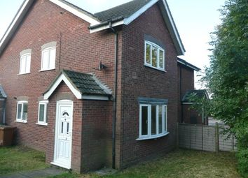 Thumbnail 1 bedroom semi-detached house to rent in Dale Avenue, Wellingborough
