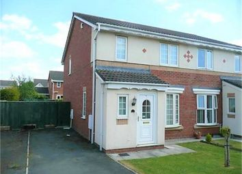 Thumbnail 4 bed semi-detached house for sale in Whimbrel Drive, Carlisle, Cumbria