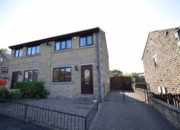 Thumbnail 3 bed semi-detached house to rent in Ings Mill Avenue, Clayton West, Huddersfield
