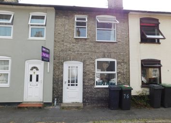 Thumbnail 2 bedroom terraced house to rent in Regent Street, Stowmarket