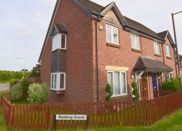 Thumbnail 3 bed semi-detached house for sale in Redding Grove, Crownhill, Milton Keynes