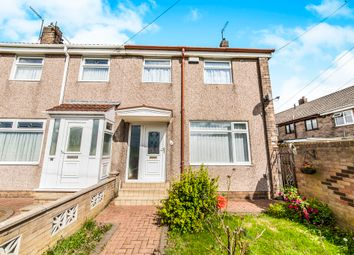 Thumbnail 2 bedroom end terrace house for sale in Sitwell Walk, Hartlepool