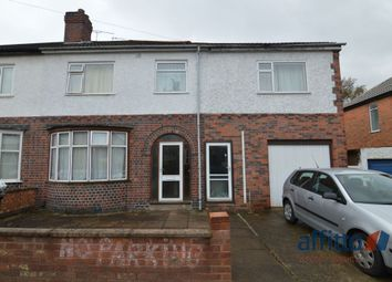 Thumbnail 6 bed semi-detached house to rent in Gainsborough Road, Leicester